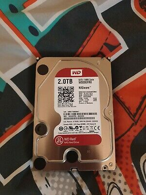 Wd Red Wd20Efrx Nas Hard Drive 2Tb 64Mb