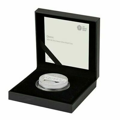 Queen 2020 UK Two Ounce 2 oz .999 Silver Proof Coin sold out limited edition 500