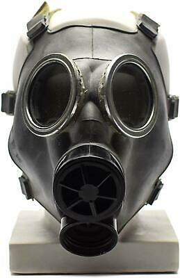 Cold war era Polish Gas Mask MC-1 Original mask Genuine respiratory Grey NEW