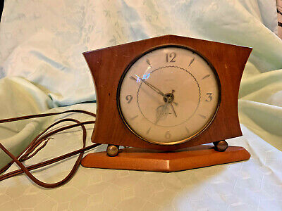 Vintage Smiths Sectric Mantel Clock Untested
