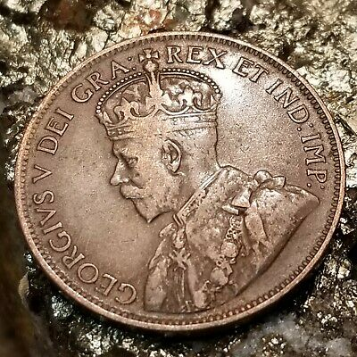 Canada 1915 1 Large cent Canadian one George V Penny coin