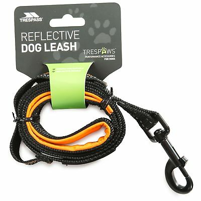 Trespaws  Dog Lead 1 Metre Long Soft Padded Handle Reflective Buster