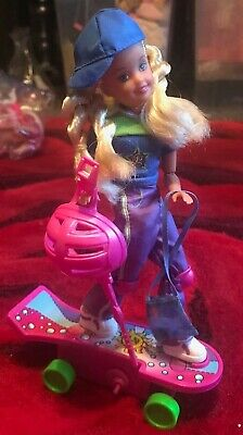 Vintage 1999 AWESOME SKATEBOARD STACIE NIB. Vibriant  n Accessories Poseable