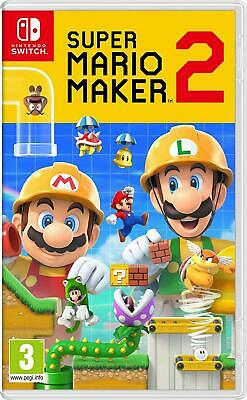 Super Mario Maker 2 (Nintendo Switch) Brand New, Sealed, UK PAL - Free Delivery