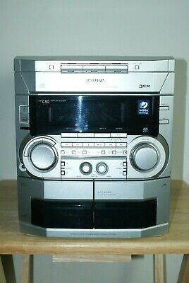 Philips FW-C80 HIFI STEREO SYSTEM