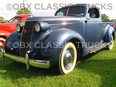Factory Photo Ref. #77954 1937 Studebaker J5 Coupe Express Truck