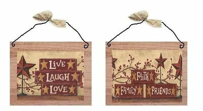 COUNTRY FRIENDS /& FAMILY SHELF wall stickers 39 decals SIGNS STARS scrapbook
