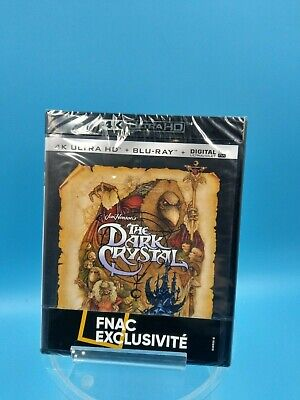 film neuf blu ray 4K ultra HD fnac the dark crystal