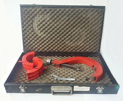 """Reed Pipe Cutter 4"""" - 6 5/8"""" TC6QA Accessories Large Metal Padded Storage Case"""