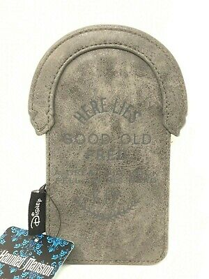 """Disney Haunted Mansion Tombstone Card Holder 6"""" - Loungefly - NEW"""
