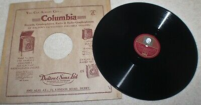 Rare 78 Record WINSTON CHURCHILL WW2 Speech 'This Was Their Finest Hour' 5 & 6