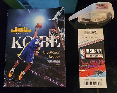 2020 NBA All-Star Game Limited Edition Kobe Bryant Tribute +Ticket Stub+Bracelet