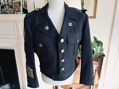Old Vintage Military Jacket Doublet Tunic Pipe Band Springfield Kilte Band