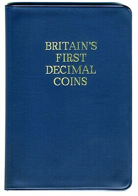 Royal Mint Britain's First Decimal Coins Set, 1971 Brilliant Uncirculated.