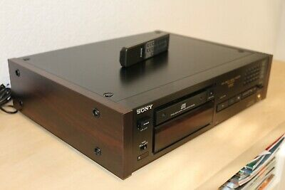 SONY CDP - X55ES High End CD Player Holzseiten Esprit Serie