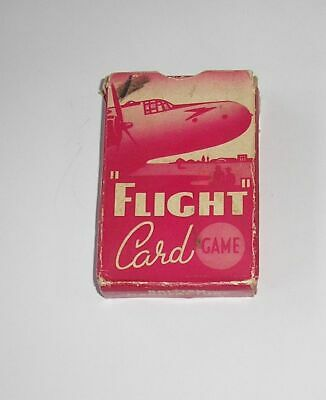 PEPYS GAMES - FLIGHT Card Game 1954