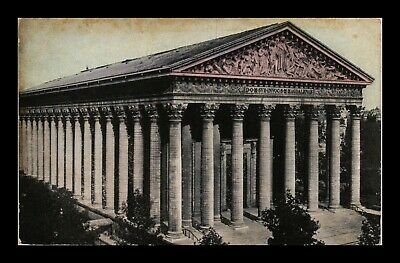 Dr Jim Stamps Church Of The Madeleine Paris France View Postcard