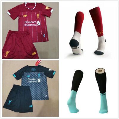 19/20 Football Kits Youth Jersey Strips Kids Soccer Training + Same Day Post