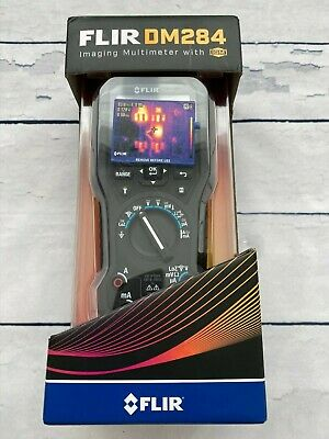 FLIR DM284 Industrial TRMS Digital Multimeter with Thermal Camera
