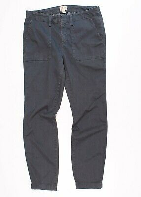 J Crew Stretch Cargo Skinny Pants In Gray Size 29