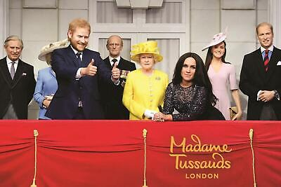 2 Madame Tussauds London Tickets Monday 23rd March at 2pm ~ 23/03/2020 RRP £70