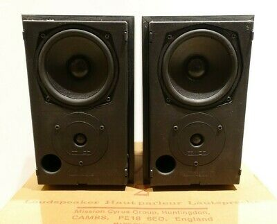 Mission 760i SE Speakers-25-75 W. Immaculate condition - Black Ash
