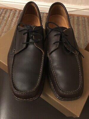 Mens Brown Leather Timberland Shoes Size 7