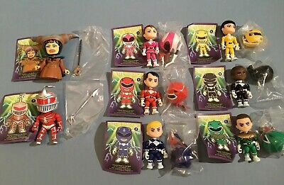 The Loyal Subjects Power Rangers Lot 8 Complete Figures