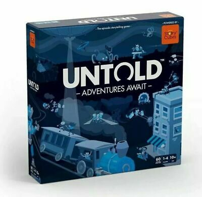 Untold Board Game including Adventure Time expansion
