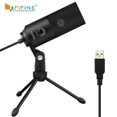 Professional Multi-Pattern USB Condenser Microphone