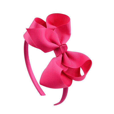 Cute Girls Kids Hair Hoop Band Headbands Sweet Bow Accessories Headwear Beauty