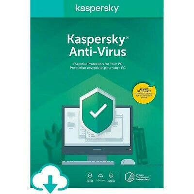 Kaspersky Antivirus 2020 1 PC 1 Year Global Key (Fast Delivery)