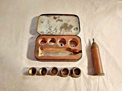 Antique Brass Hole Punch Kit Leather(?)