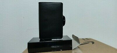 Credit Card Holder Anti-theft-RFID Auto Pop-up Leather Card Wallet Men