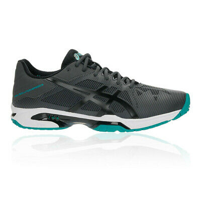 Asics Hombre Gel-solution Speed 3 Tenis Zapatos Negro Deporte Transpirable