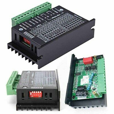 TB6600 Single Axis 4A Stepper Motor Driver Controller 9~40V Micro-Step CNC New