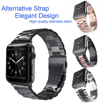 For Apple Watch Serie 5432 iWatch Stainless Steel Strap 38/42/40/44mm Watch Band