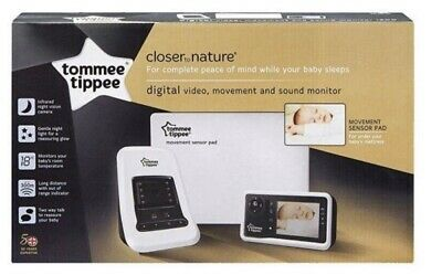 Tommee Tippee Closer To Nature Video Baby Monitor