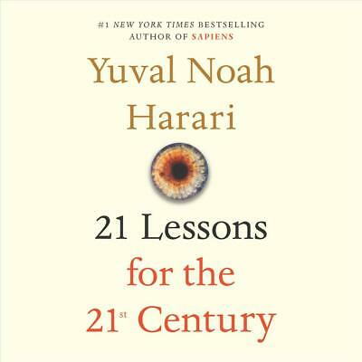 21 Lessons for the 21st Century by Yuval Noah Harari (English) Compact Disc Book