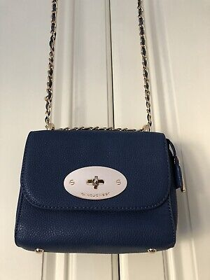 David Jones 'mini Lily' Handbag Blue BNWoT