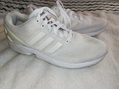 DESIGNER adidas TORSION WHITE TRAINERS  size 7...GOOD COND . RRP £60