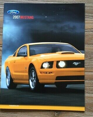 Ford Mustang 2007 Brochure