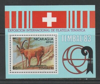 Thematic Stamps Animals - NICARAGUA 1983 TEMBAL (ANIMALS) MS mint