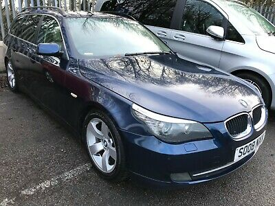 """2008 Bmw 520D 177 Se Touring - 2F/Wonrs, 6 Stamps, Leather, 17"""" Alloys, Lovely"""