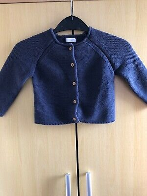 12-18 Months Girls Navy Cardigan