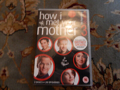 How I Met Your Mother Season 3 - DVD  Disc + case