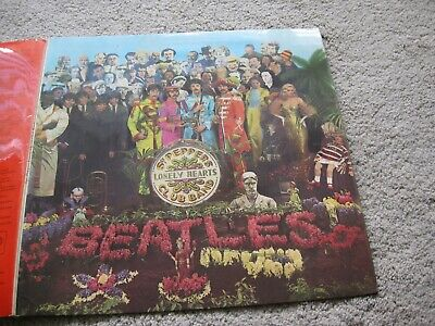 The Beatles - Sgt Pepper's Lonely Hearts Club Band stereo 1967 PCS 7027