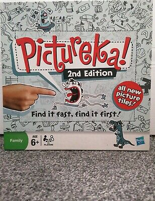 Pictureka Board Game 2nd Edition Good Condition
