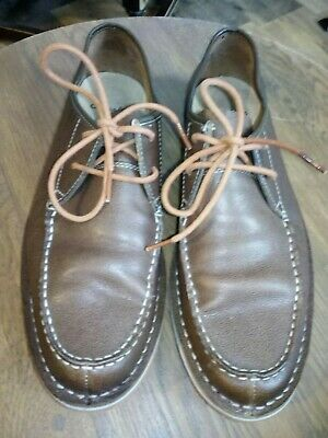 Mens brown clarks shoes size 9