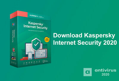 "Kaspersky Internet Security 2020 1Pc/1Anno ""Spedizione Immed."" Di Lic. Originale"